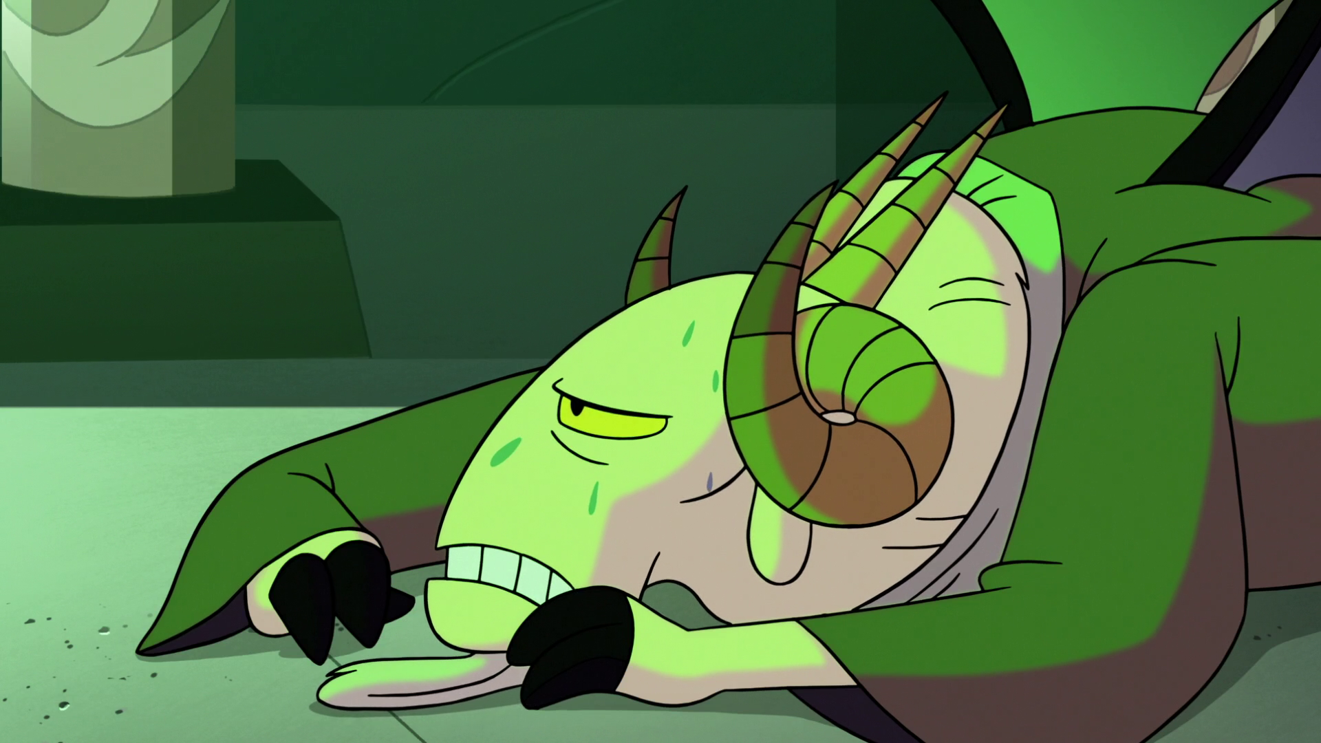 S2E41 Chancellor Lekmet weak on the ground.png - Weak Boy PNG