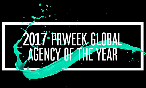 PRWeek Names Weber Shandwick 2017 Global Agency of the Year - Weber Shandwick Vector PNG