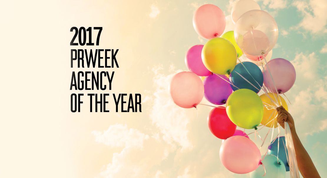 PRWeek U.S. Names Weber Shandwick Agency of the Year for Third Consecutive  Year - Weber Shandwick Vector PNG
