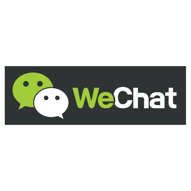 WeChat logo vector - Wechat Logo Vector PNG
