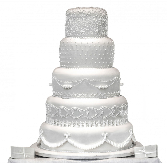 pin Wedding Cake clipart wedding food #2 - Wedding Cake HD PNG