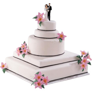 WEDDING-CAKE 3.png - Wedding Cake HD PNG