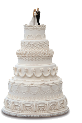Wedding Cake HD PNG - 93123