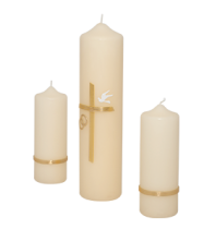 Wedding Candle Sets - Church Candles PNG