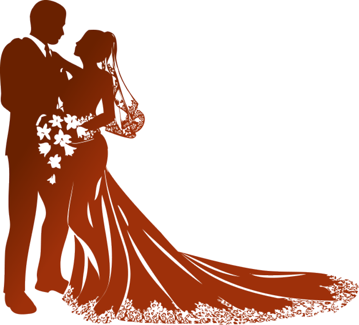 Wedding Couples PNG HD - 136865