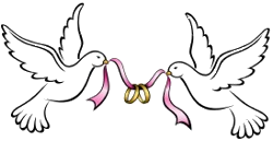 Wedding Dove PNG HD - 130618