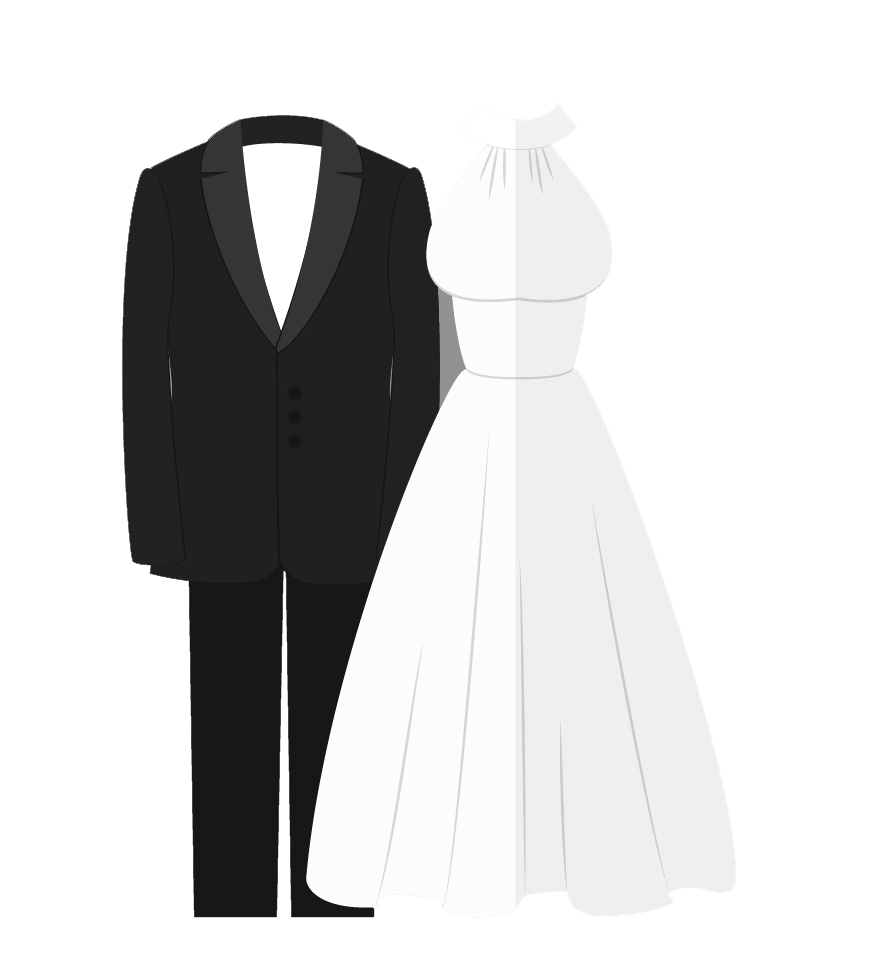 Beauty and Salons; Bridal Attire-icon - Wedding Dress And Tux PNG