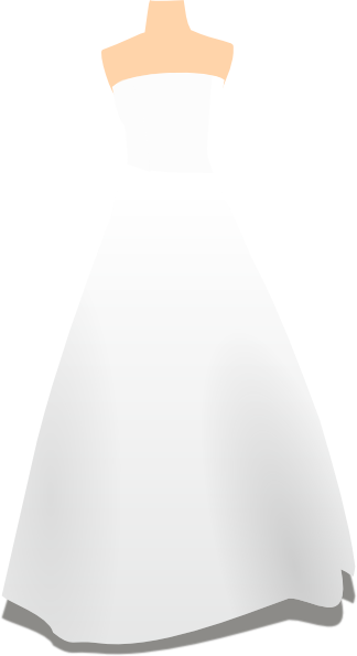 Wedding Dress And Tux PNG - 81313