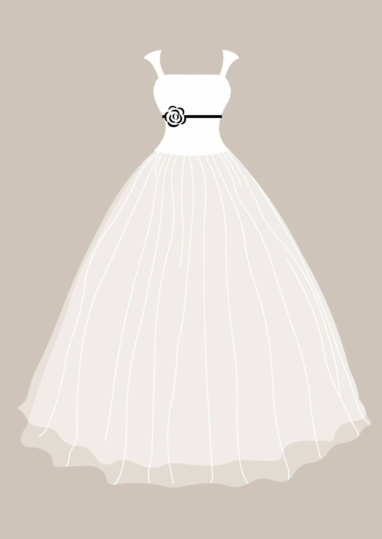 pin Dress clipart wedding dress #6 - Wedding Dress And Tux PNG