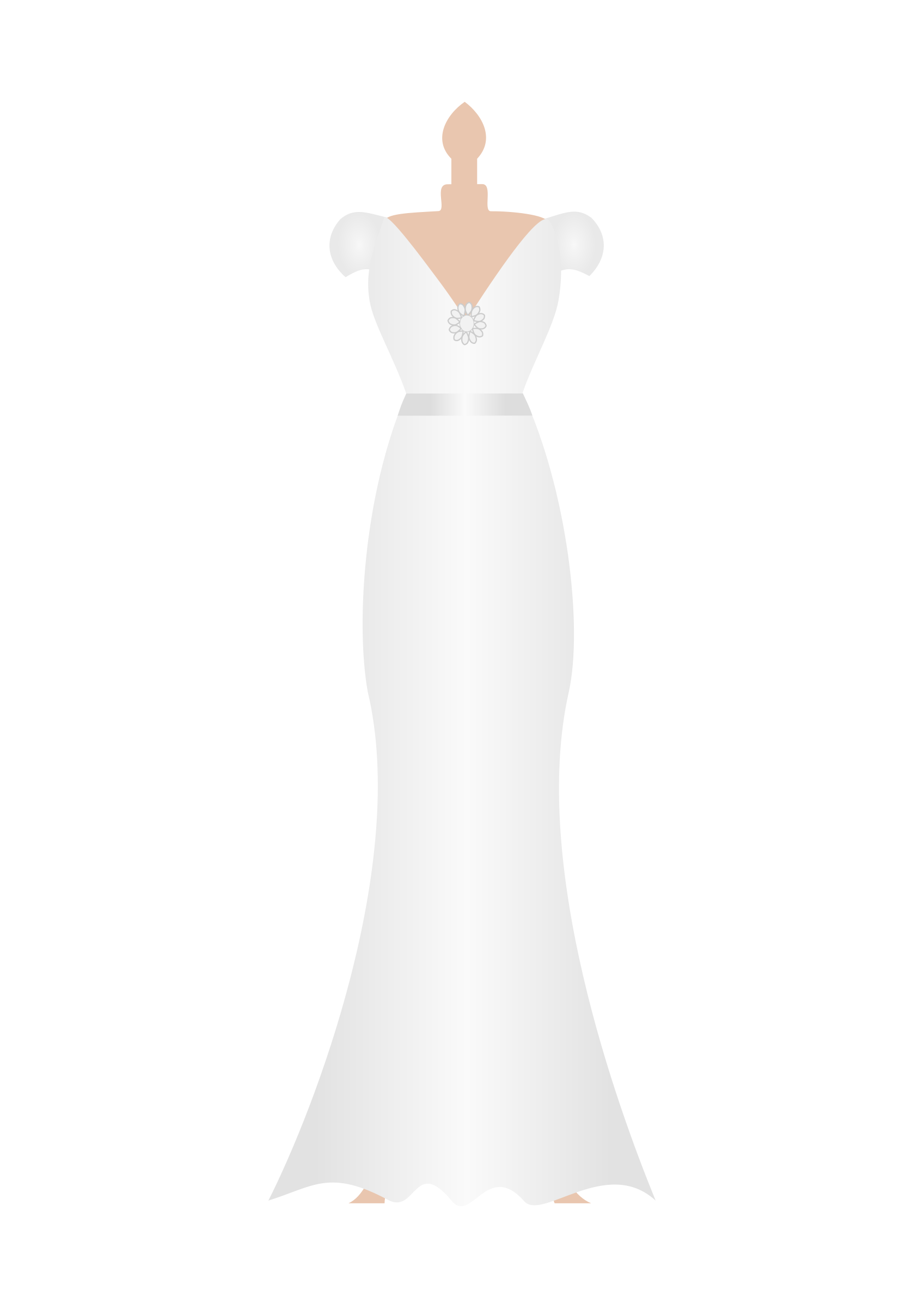 pin Dress clipart wedding dress #7 - Wedding Dress And Tux PNG