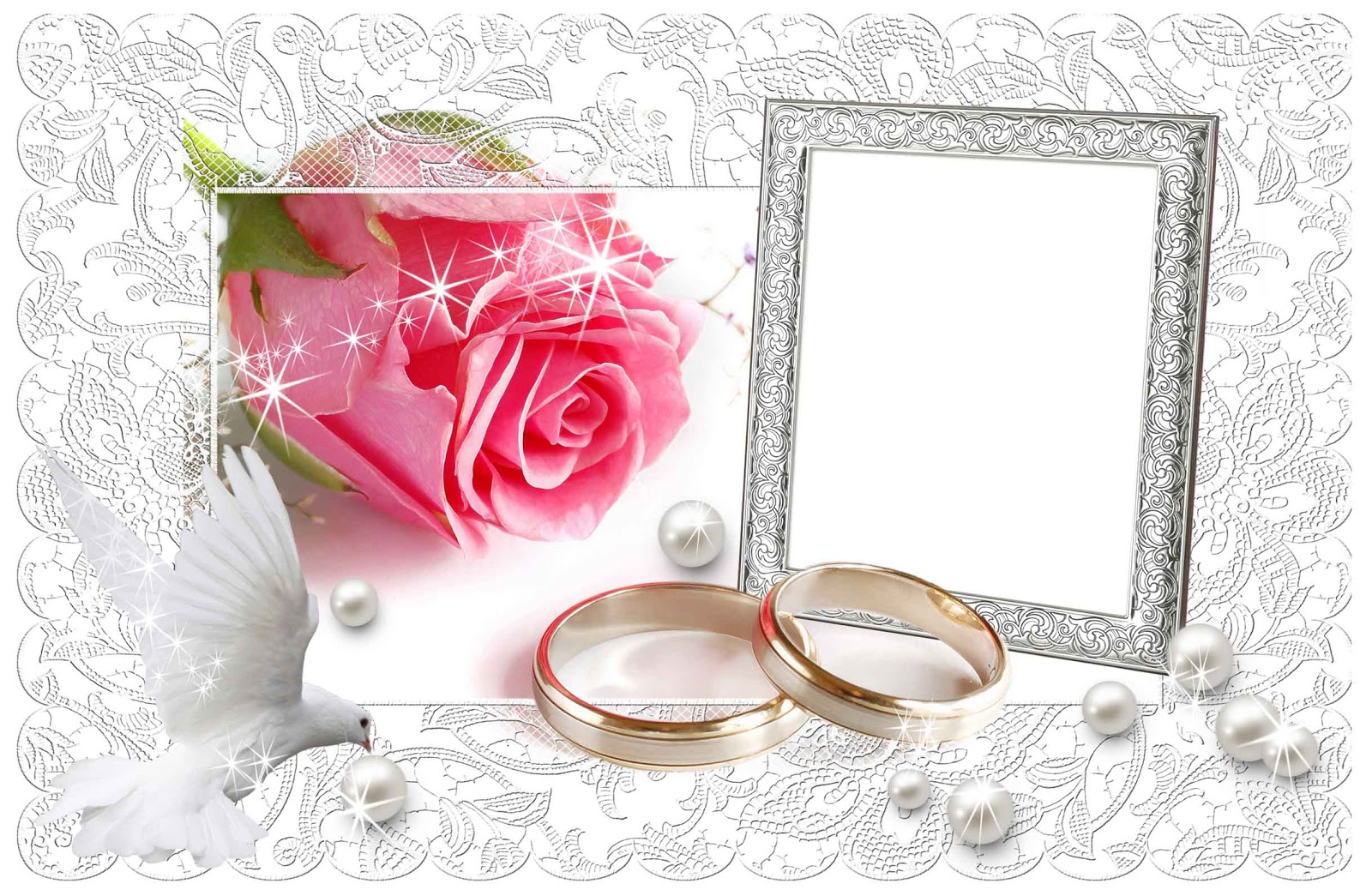 31 Awesome wedding frames png free download - Wedding PNG Download