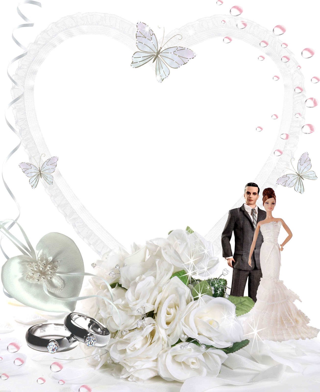 download wedding png frame (f