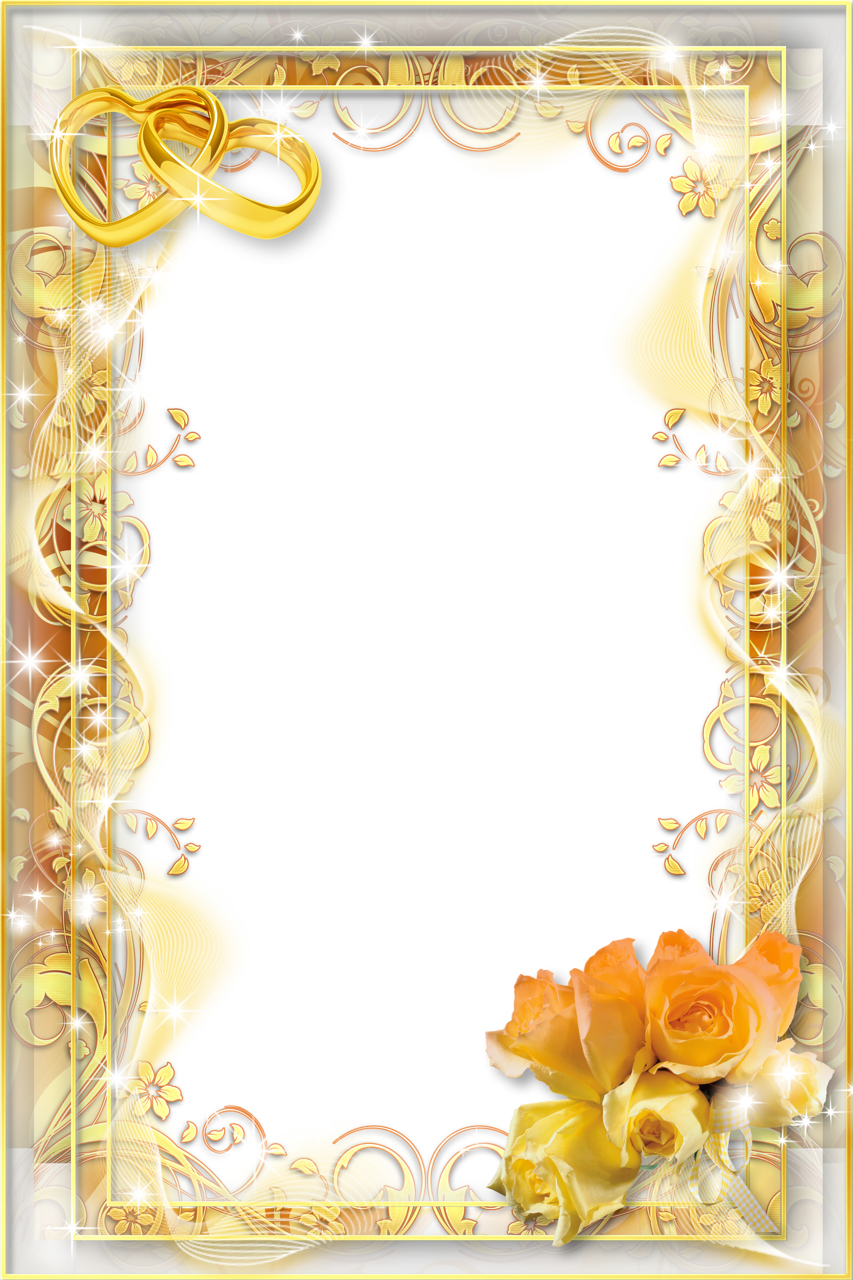 Wedding frame PNG - Wedding PNG Download