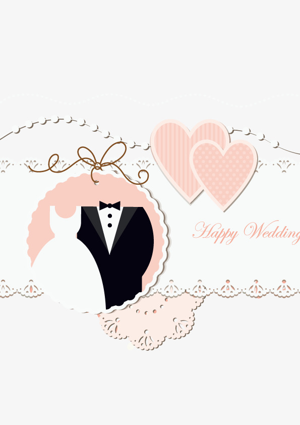 Vector Wedding Cards, PNG Image, HD, Vector Material Free PNG and Vector - Wedding PNG HD Free Download