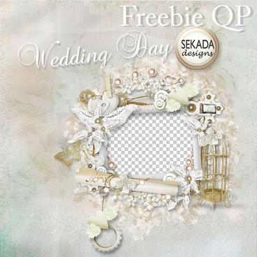 White Gold Birdcage Wedding Photo Frame Png - Wedding PNG HD Free Download