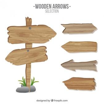 Holz Arros Zeichen - Wegweiser Holz PNG