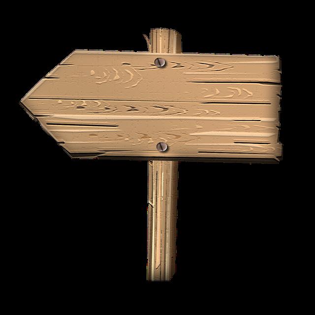 Kostenlose Illustration: Schild, Wegweiser, Wegzeiger - Kostenloses Bild  Auf Pixabay - 504428 - Wegweiser Holz PNG