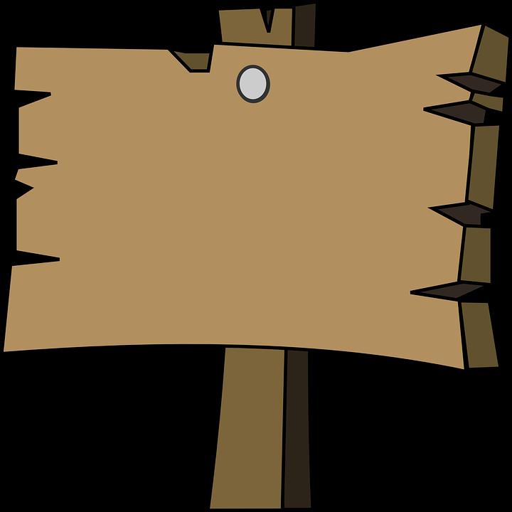 Signal, Holz, Reiner, Leer, Wegweiser - Wegweiser Holz PNG
