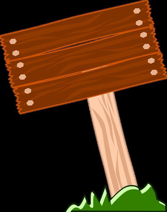 Wegweiser, Holz, Leere, Gras, Natürliche - Wegweiser Holz PNG