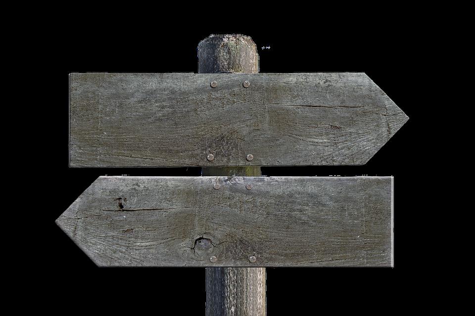 Wegweiser, Holz, Schild, Wegzeiger, Richtung - Wegweiser Holz PNG