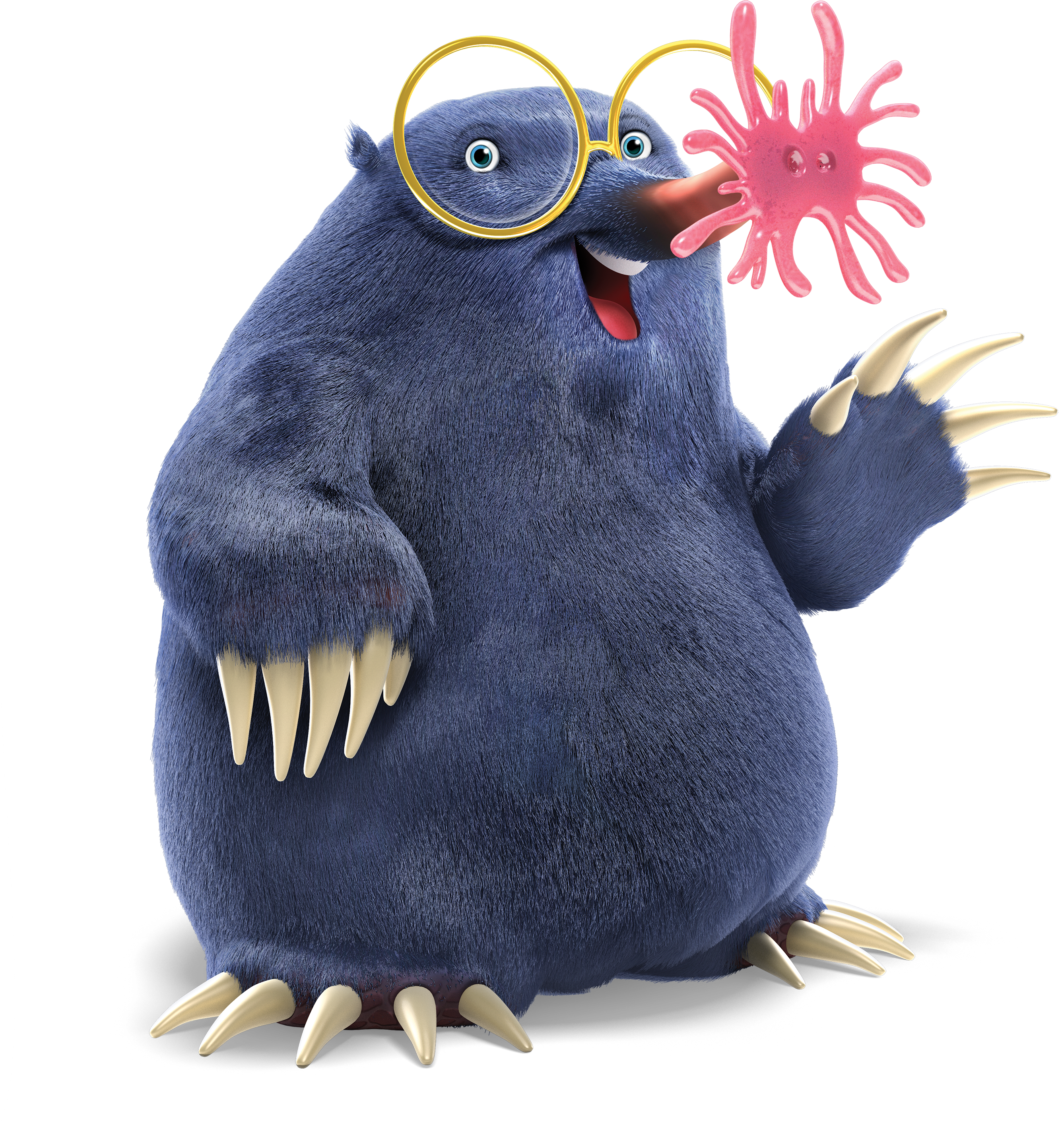 Day3StarNosedMole_Hi_Res.png PlusPng.com  - Weird Animals Vbs PNG