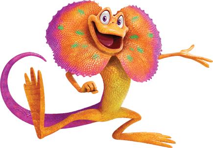 iggy-the-lizard-bible-memory-buddy - Weird Animals Vbs PNG