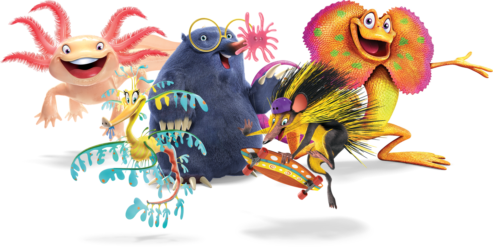 Meet Weird Animals - Weird Animals Vbs PNG