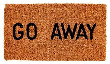 Amazon pluspng.com : Kempf Go Away Doormat, 16 by 27 by 1-Inch : Funny Door Mats :  Patio, Lawn u0026 Garden - Welcome Mat PNG
