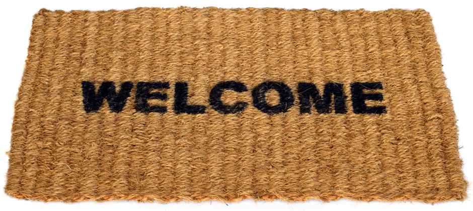 Welcome - Welcome Mat PNG