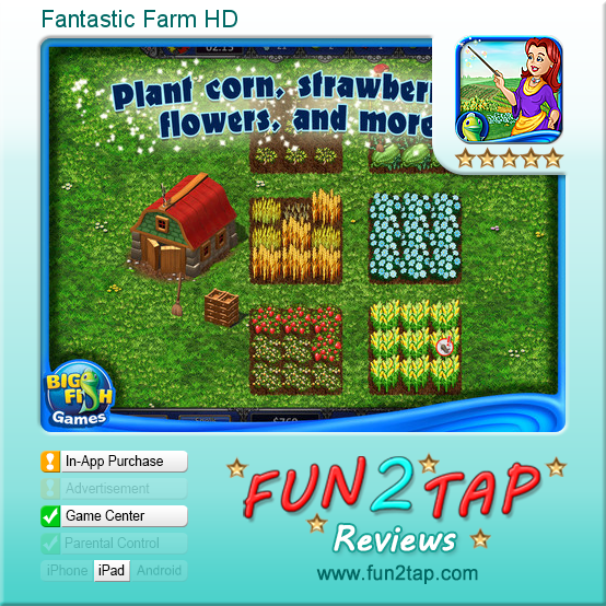 Fantastic Farm HD - Casual farming - well done. Full review at: http: - Well Done PNG HD