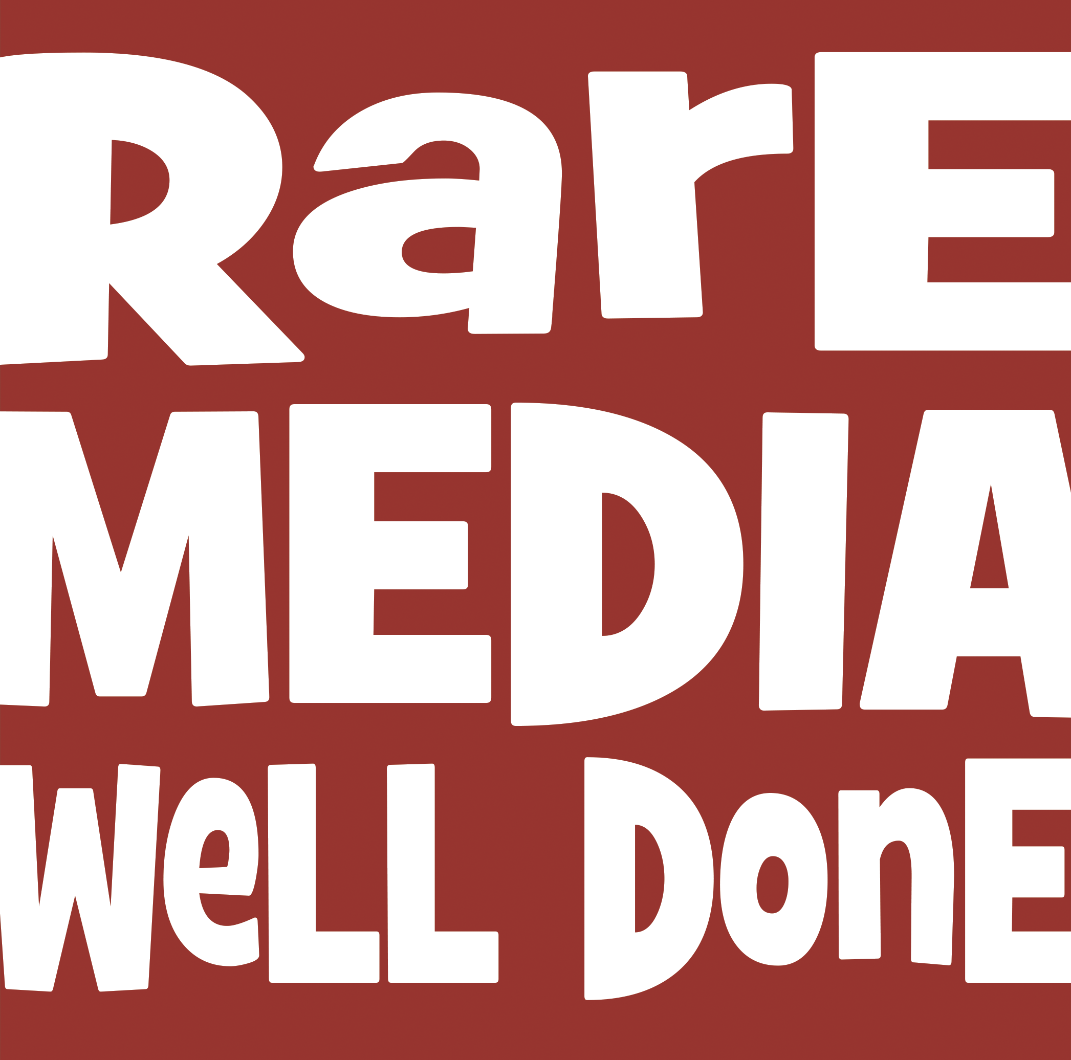 Rare MEDIA Well Done Video Promo April 2016 - Well Done PNG HD