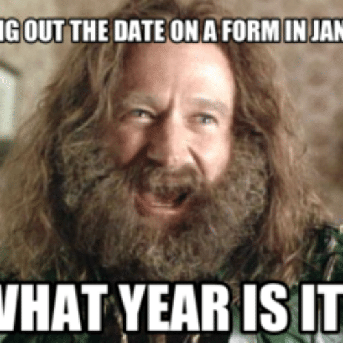 Gout, Dates, and The Date: GOUT THE DATE ON A FORMIN JAN WHAT - What Year Is It PNG