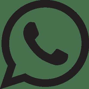 Whatsapp Logo Black And White Transparent Png - Pluspng - Whatsapp Logo PNG
