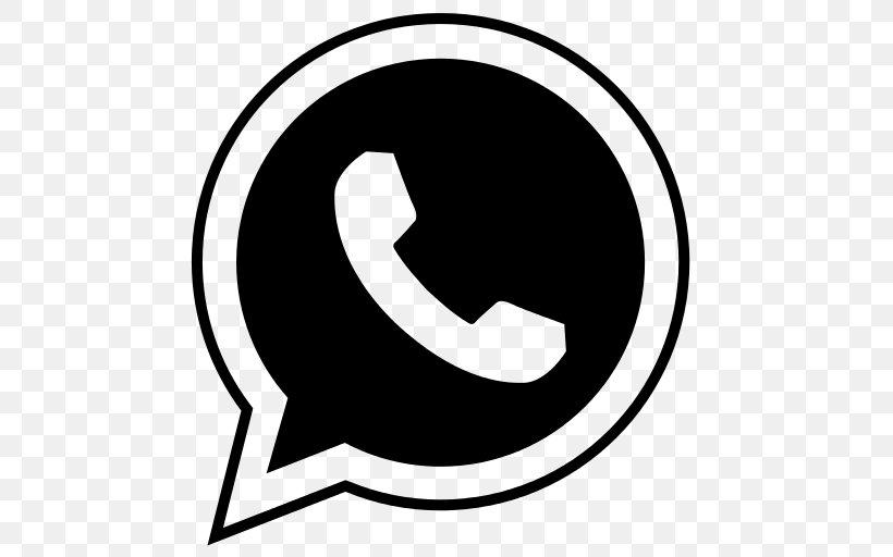Whatsapp Logo Icon, Png, 512x512px, Whatsapp, Area, Black And Pluspng.com  - Whatsapp Logo PNG
