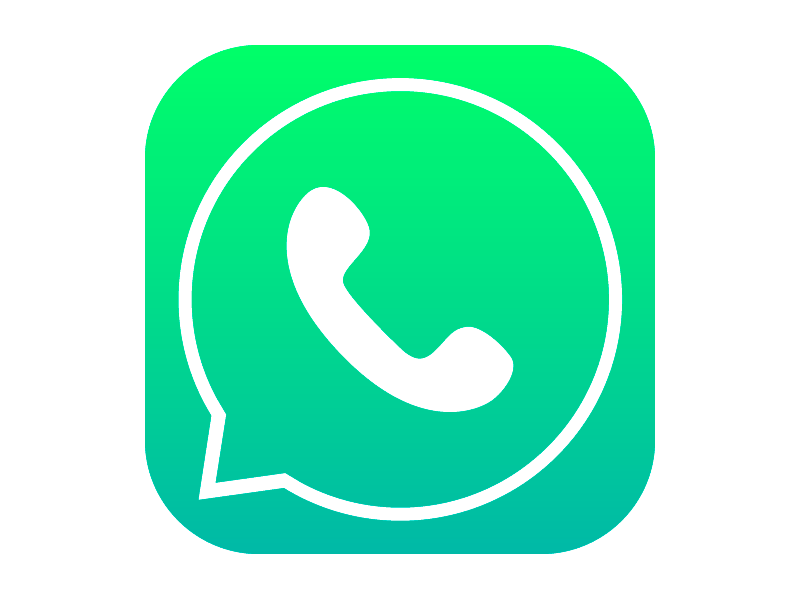 Whatsapp Icon With IOS7 Style Image #3941 - Whatsapp PNG