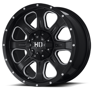 Fast HD C4 5 Black with Diamond Cut - Wheel HD PNG