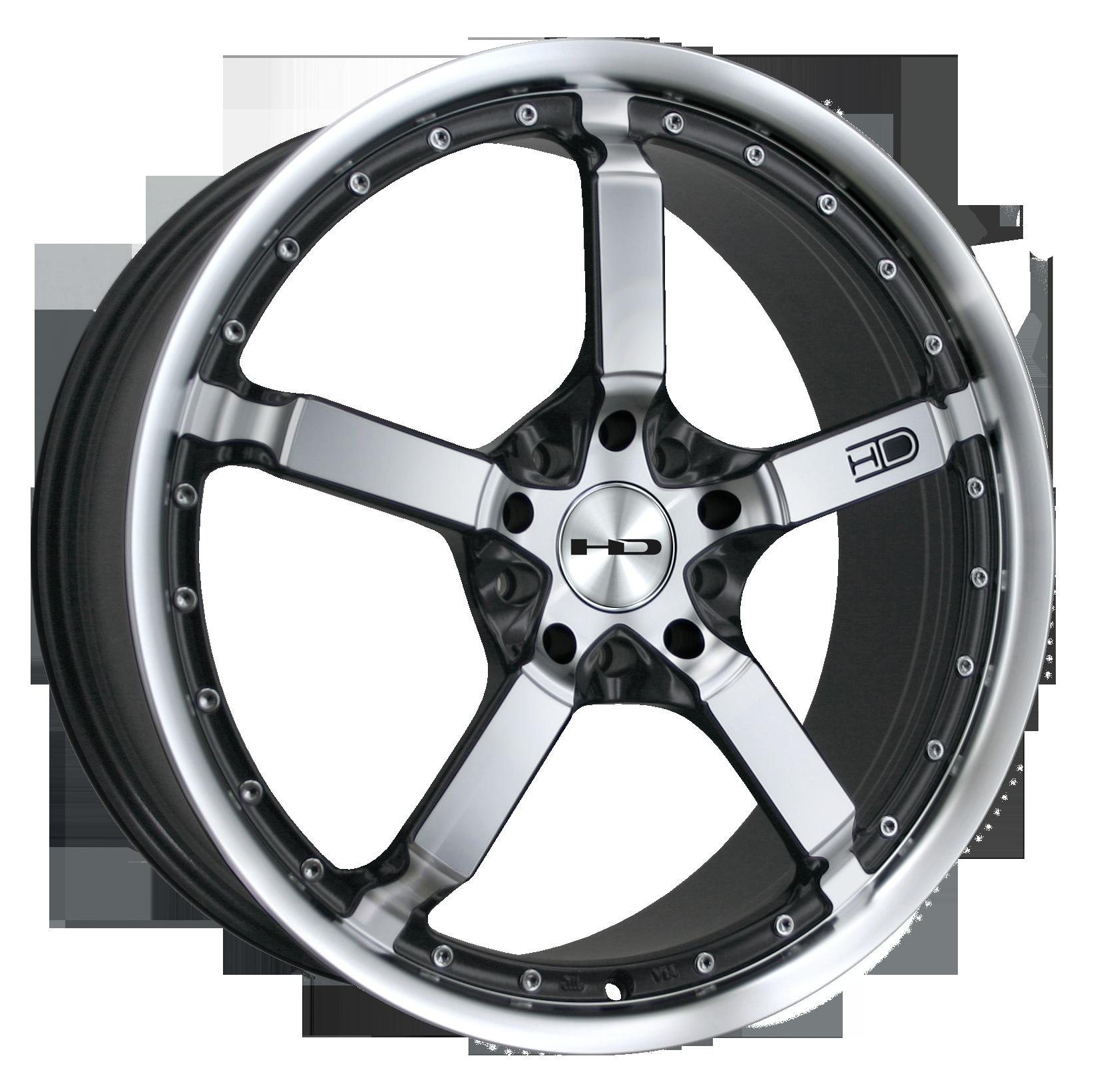 HD Wheels Cool Down Iridium Black - Wheel HD PNG