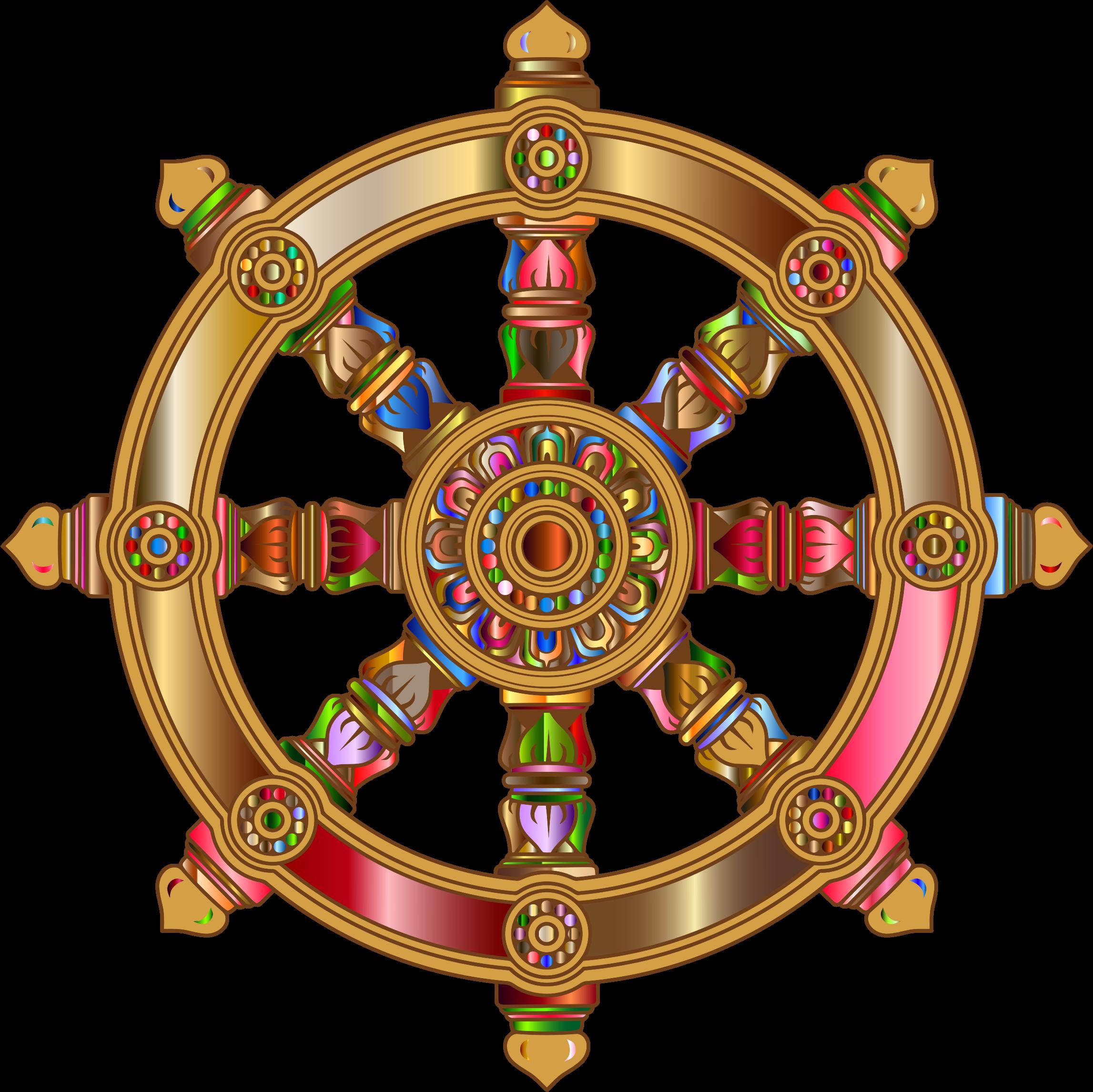 Wheel Of Dharma HD PNG - 116683