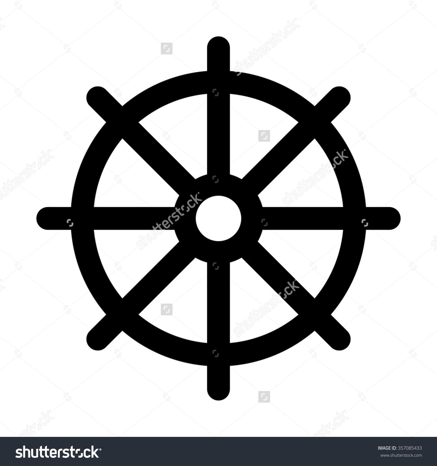 Wheel Of Dharma HD PNG - 116691