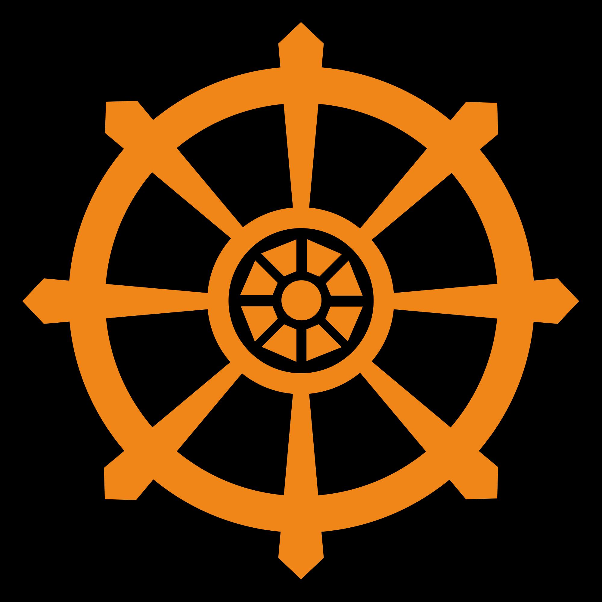 Wheel Of Dharma HD PNG
