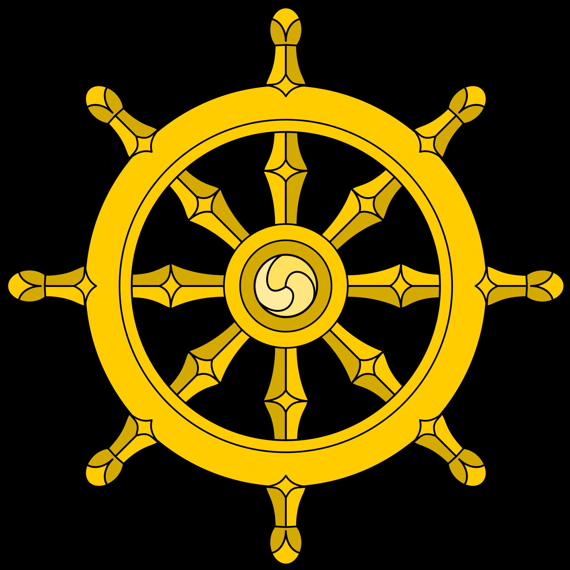 Wheel Of Dharma HD PNG - 116676