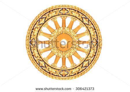 Wheel Of Dharma HD PNG - 116685