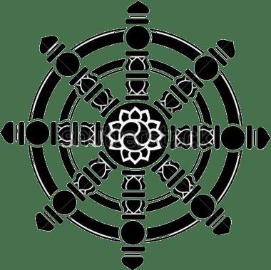 Wheel Of Dharma HD PNG - 116688