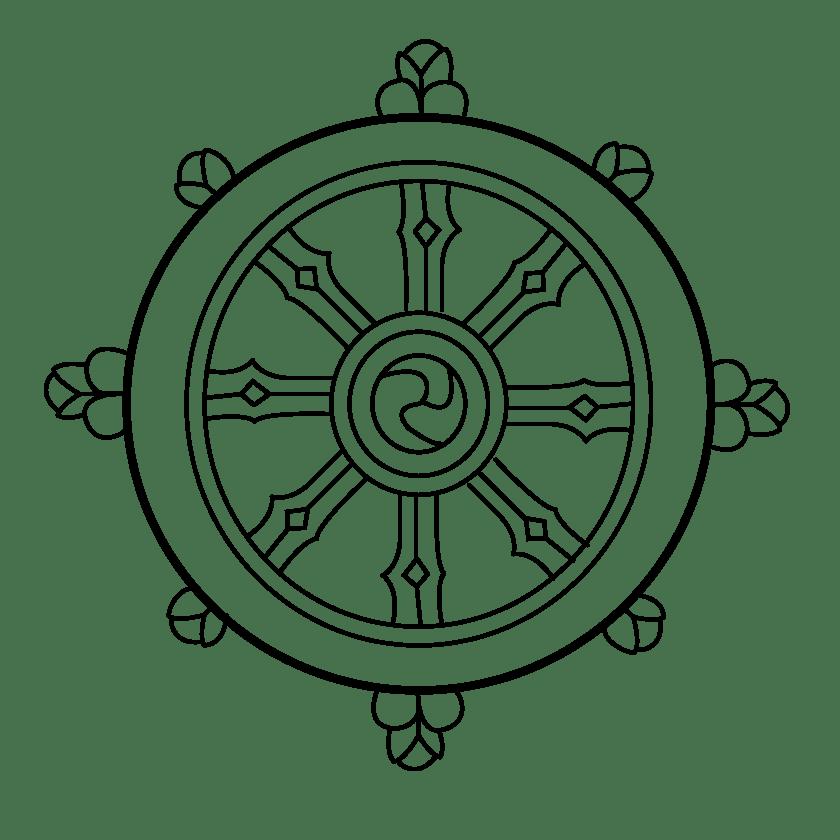 Wheel Of Dharma HD PNG - 116686