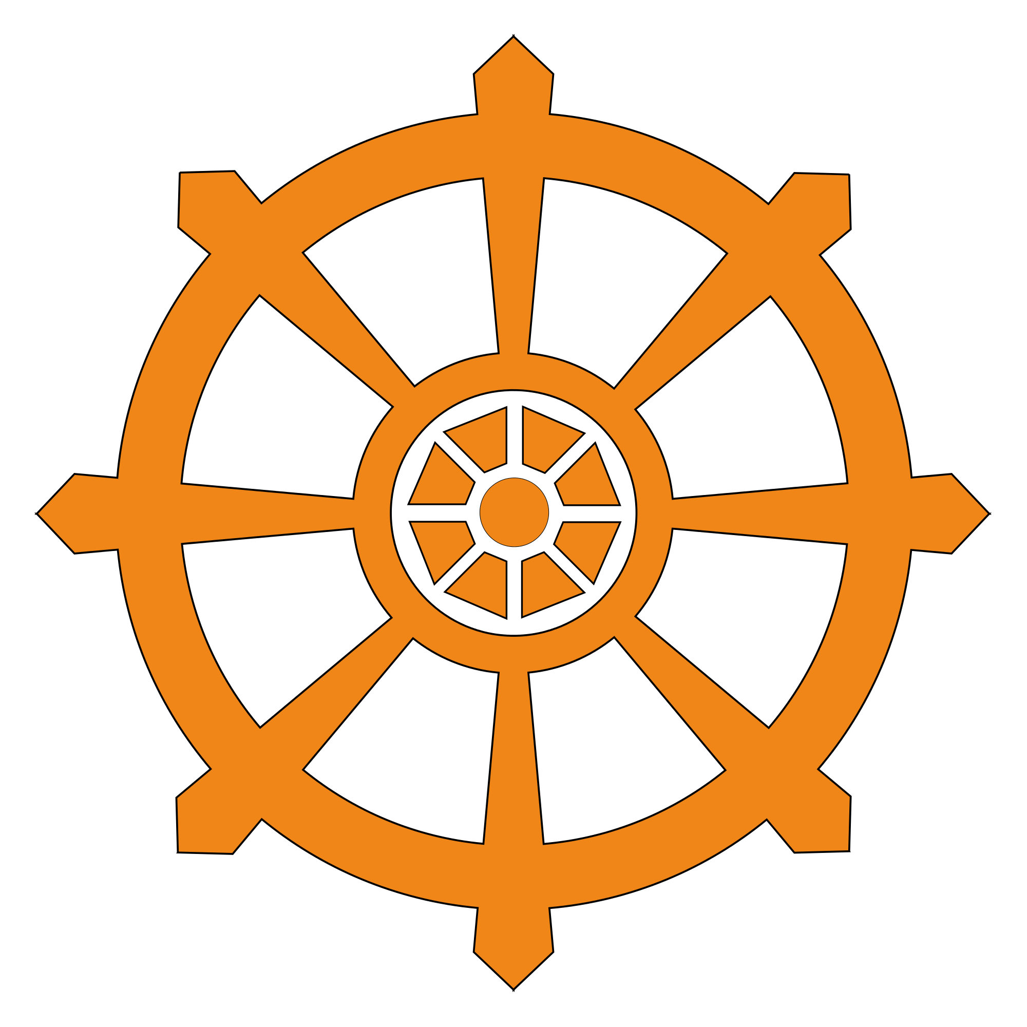 Wheel Of Dharma PNG Transparent Wheel Of Dharma.PNG Images. | PlusPNG for Dharmachakra Png  45ifm
