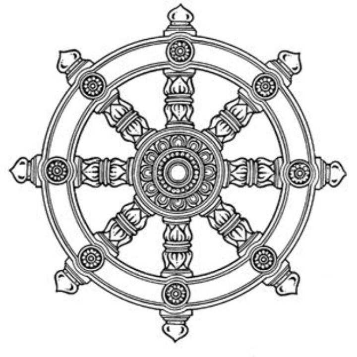 Wheel Of Dharma PNG - 15104