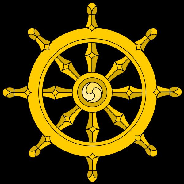 Wheel Of Dharma PNG - 15089