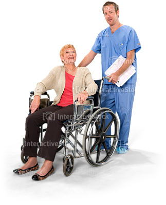 Wheelchair Elderly PNG