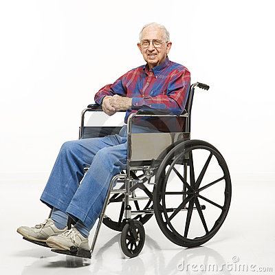 Wheelchair Elderly PNG - 64116
