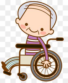 Vector wheelchair elderly, Vector, Wheelchair, Old People PNG and Vector - Wheelchair Elderly PNG